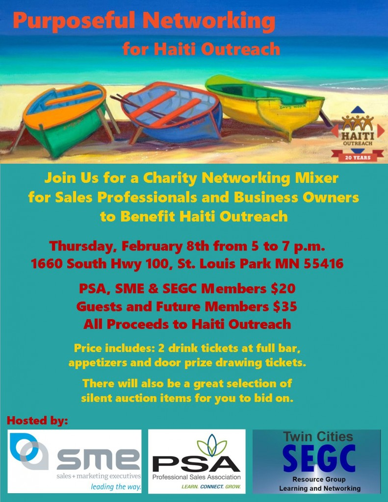 Purposeful Networking for Haiti Flyer 3